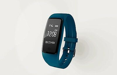 (Blue) - Smart Wristband Heart Rate Monitor Sports Bracelet Bluetooth Fitness