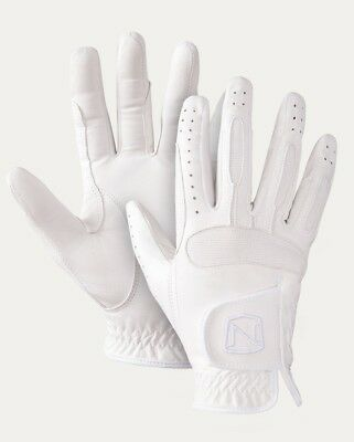(7, White) - Show Ready Leather Glove. Noble Outfitters. Shipping Included