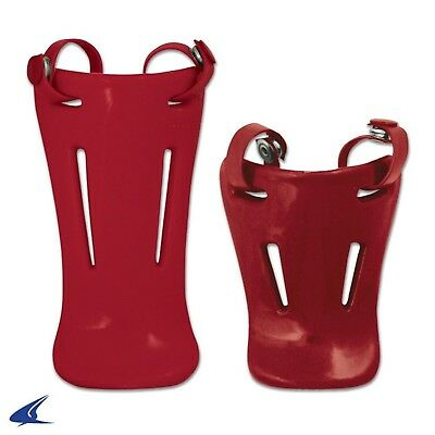 (110cm , Scarlet) - CHAMPRO CM06 THROAT GUARDS FOR HEADGEAR FACEMASK CM06