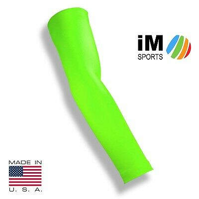 (Medium / Large, Neon Green) - iM Sports THE ACE Baseball Pitching Compression