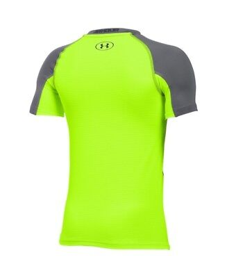 (X-Large / 18-20 Big Kids, Graphite/Fuel Green) - Under Armour Boys Armour Up