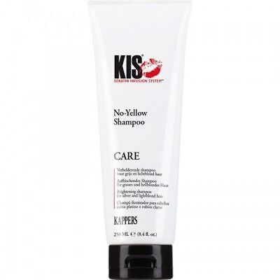 (€5,80/100ml) KIS No-Yellow Silbershampoo graues / blondes Haar 250ml  █▬█ █ ▀█▀