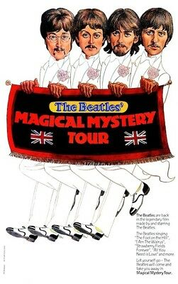 The Beatles Magical Mystery Tour POSTER Rare Large