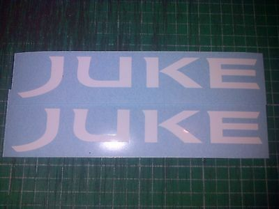 2 Nissan Juke 100mm Decals Sticker JDM Drift Motorsport Nismo