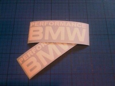 BMW Pereformance 150mm x2 Window Bumper Stickers Decals