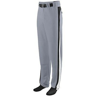 (Youth Large, Grey Pants with Black/White Piping) - Travel Ball/All-Star/High