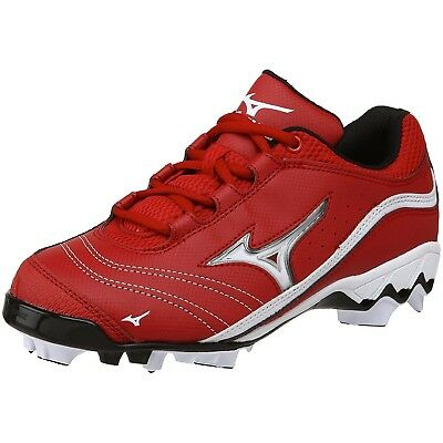 (11.5 B(M) US, Red/White) - Mizuno Women's 9-Spike Watley G3 Switch Softball