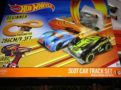 Slot car set Hot Wheels x 2