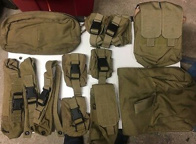 Eagle Industries MLCS lot of pouches & accessories Navy SEALs NSW MLCS