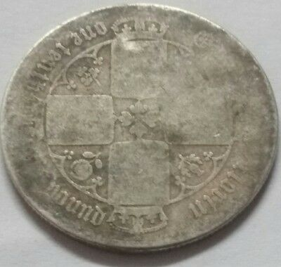 Queen Victoria Florin One Tenth Of A Pound Silver Coin UK Great Britain