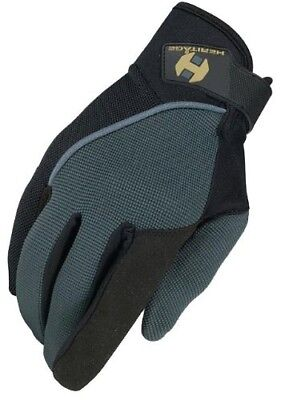 (9, Dark Grey/Black) - Heritage Competition Glove. Heritage Products