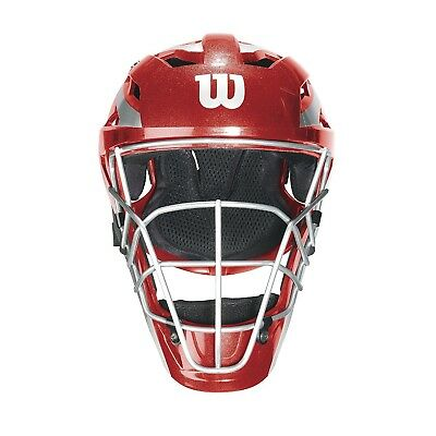 (Large/X-Large, Scarlet) - Wilson Pro Stock Catcher's Mask. Brand New