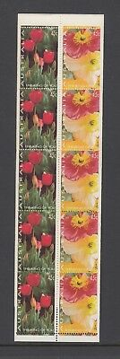 Australia 1994 THINKING of YOU FLOWER Booklet Complete @ PO price $4.50