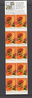 Australia 1997 THINKING of YOU ROSE Flower  Booklet Complete @ PO price $4.50