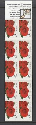 Australia 1999 THINKING of YOU ROSE Flower  Booklet Complete @ PO price $4.50