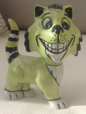 Lorna Bailey Cat Colouway Gnasher 1/2 Open day piece Signed in gold
