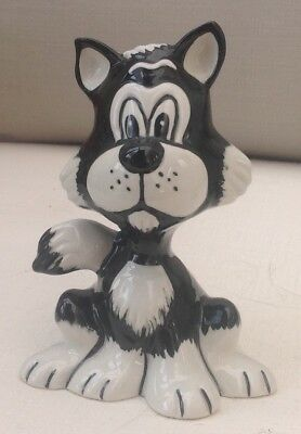 Lorna Bailey Cat Colourway Black and White Billy 4/4 Open Day Piece