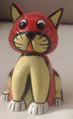 Lorna Bailey Early Cat Tiddles Prototype 2001