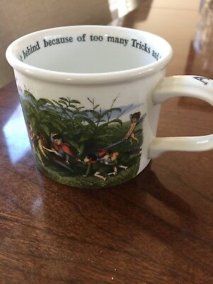 "Charming Portmeirion ""The Enchanted Garden"" Cup with Handle"