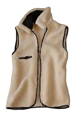 (Medium, Natural) - Outback Trading Co Men's Co. Wool Drover Liner - 2008