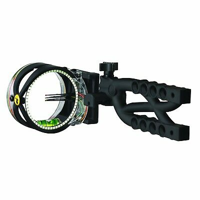 (3-Pin, Black) - Trophy Ridge Cypher 3 Bow Sight. Free Delivery