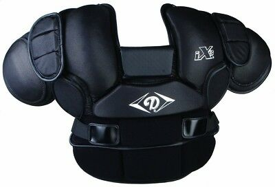 Diamond Sports Custom Fit Lightweight Umpire Chest Protector. Free Delivery