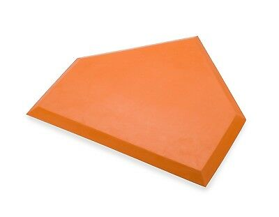 (Orange) - Athletic Specialties Heavy Duty Home Plate without Stakes. Best Price