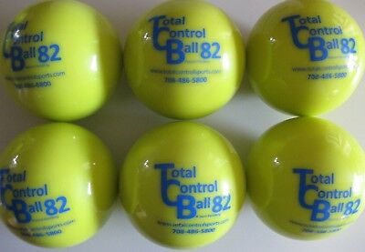 TOTAL CONTROL BALL TCB 82 Softball Weighted Training Hitting Batting Aid ~ 6