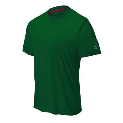 (Small, Forest) - Mizuno Comp Short Sleeve Crew Top. Unbranded. Huge Saving