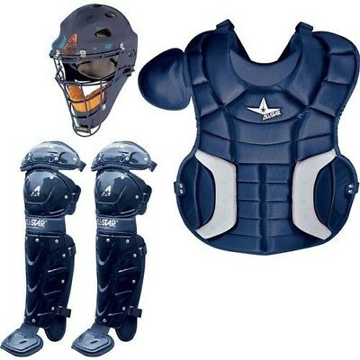 (Navy) - ALL-STAR CK79PS Player's Series Catcher's Kit. Best Price