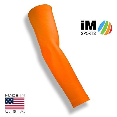 (XX-Small, Neon Orange) - iM Sports THE ACE Baseball Pitching Compression Arm