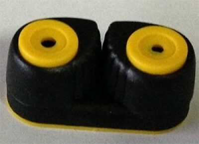 Nautos # 91026TY- Small composite cam cleat - YELLOW TOP. Shipping is Free