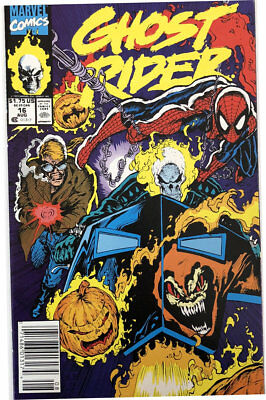 US Marvel Comics Ghost Rider Volume 2 Issue 16 August 1991 MINT Comic