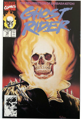 US Marvel Comics Ghost Rider Volume 2 Issue 18 October 1991 MINT Comic