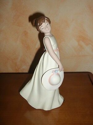 Nadal Porcelain Figurine. Hand made in Spain.