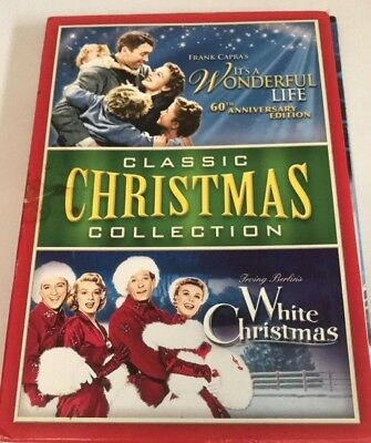 Classic Christmas Collection - It's a Wonderful Life (DVD) Very Good