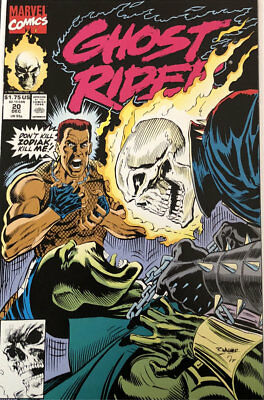US Marvel Comics Ghost Rider Volume 2 Issue 20 December 1991 MINT Comic