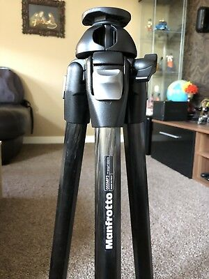 Manfrotto 055MF3 Magfiber Pro Carbon Fiber 3-Section Tripod (Supports 7kg)