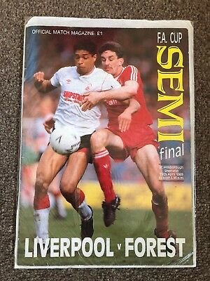 Liverpool v Forest 1989 Fa Cup Final Hillsborough