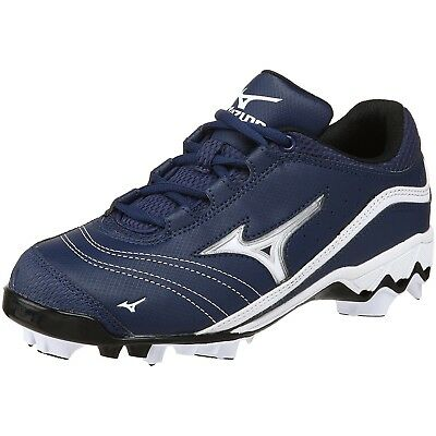 (5.5 B(M) US, Royal/White) - Mizuno Women's 9-Spike Watley G3 Switch Softball