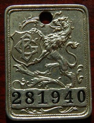 Vintage Charge Coin Gimbel Brothers Department Store Walking Griffin Take A Peek