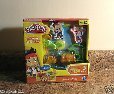 Disney Jake and The Neverland Pirates Play Doh Treasure Creations Set NEW