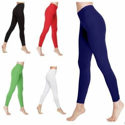 Adult Women Full Length Cotton Leggings Ladies New Style Leggings All SizesS-XXL