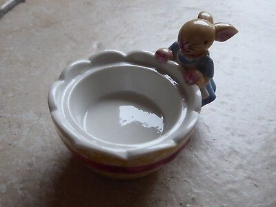 Villeroy et Boch - Bunny Family - Photophore Oeuf Lapin Fille