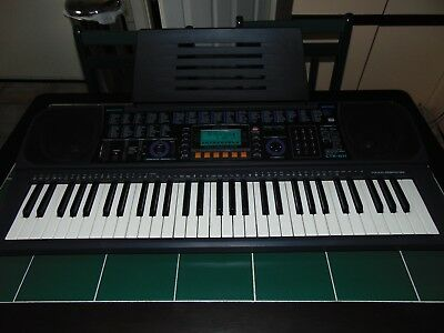 """Casio CTK-611 keyboard """"synthesiser"""" with touch sensitive keys, MIDI (will post)"""
