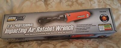 """Central Pneumatic Earth Quake 3/8"""" Impacting Air Ratchet Wrench 68426 NEW"""