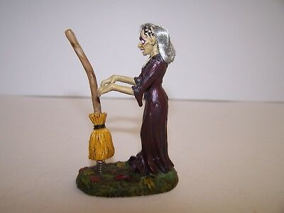 "Dept 56 Snow Village Halloween  Series  Accessory    ""hilda"""