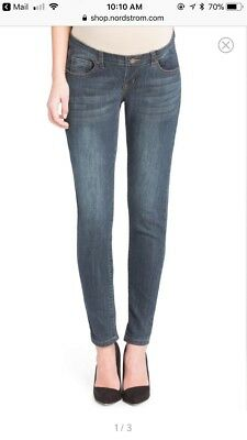 Nordstrom Lilac clothing Skinny Maternity Jeans XS