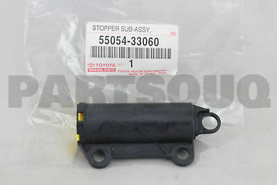 5505433060 Genuine Toyota STOPPER SUB-ASSY, GLOVE COMPARTMENT DOOR 55054-33060