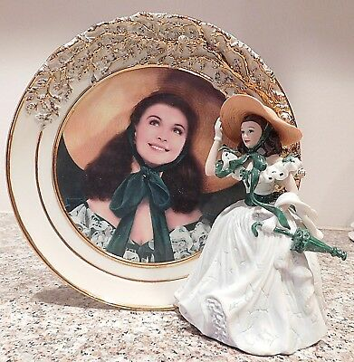 Reflections of Scarlett Porcelain Gone With the Wind Plate Belle of the Barbeque